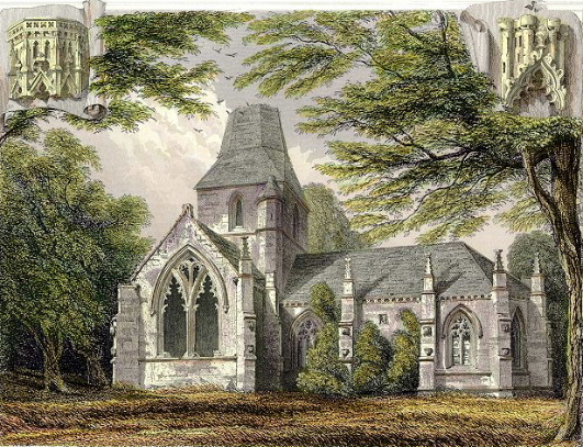 The Seton Family Collegiate Church, Click to view another rendering