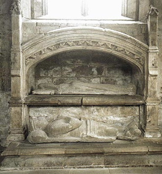 Lord Seton's Tomb at Seton Collegiate Church.